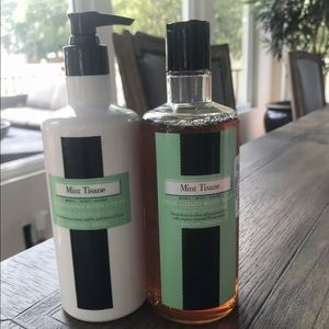 LAFCO Mint Tisane Body Lotion and Body Soap
